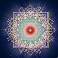 'There is no path to peace, peace is the path.' #ghandi It's International Peace Day. Sending out loving vibes across the globe. Image: #EndreBalogh #peace #interconnection #universal #love #inspiration #sacredgeometry